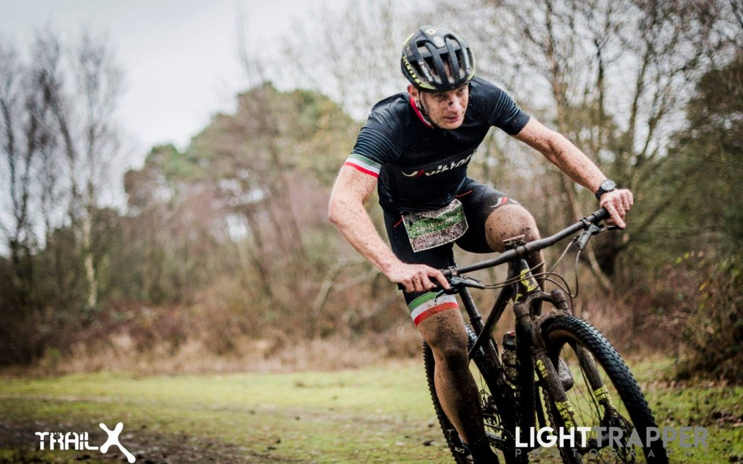 Winter Duathlon report from within the V40 race!