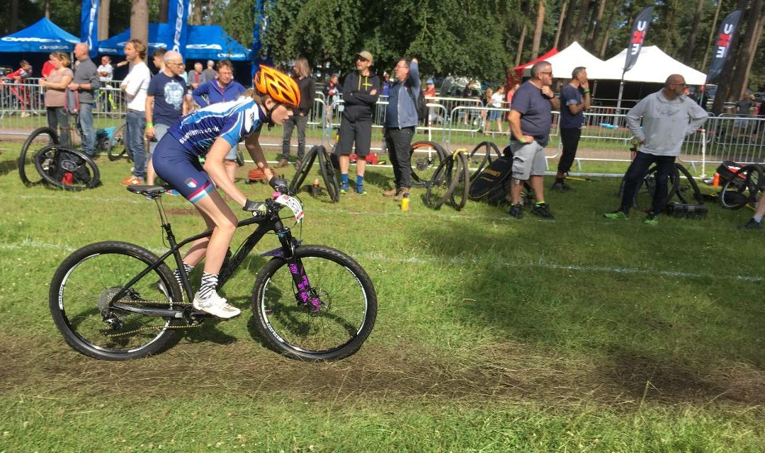 British Cycling National XC Champs report by Lucy Allsop (U14)